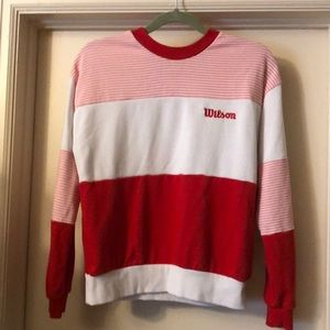 Forever 21/Wilson color block sweatshirt